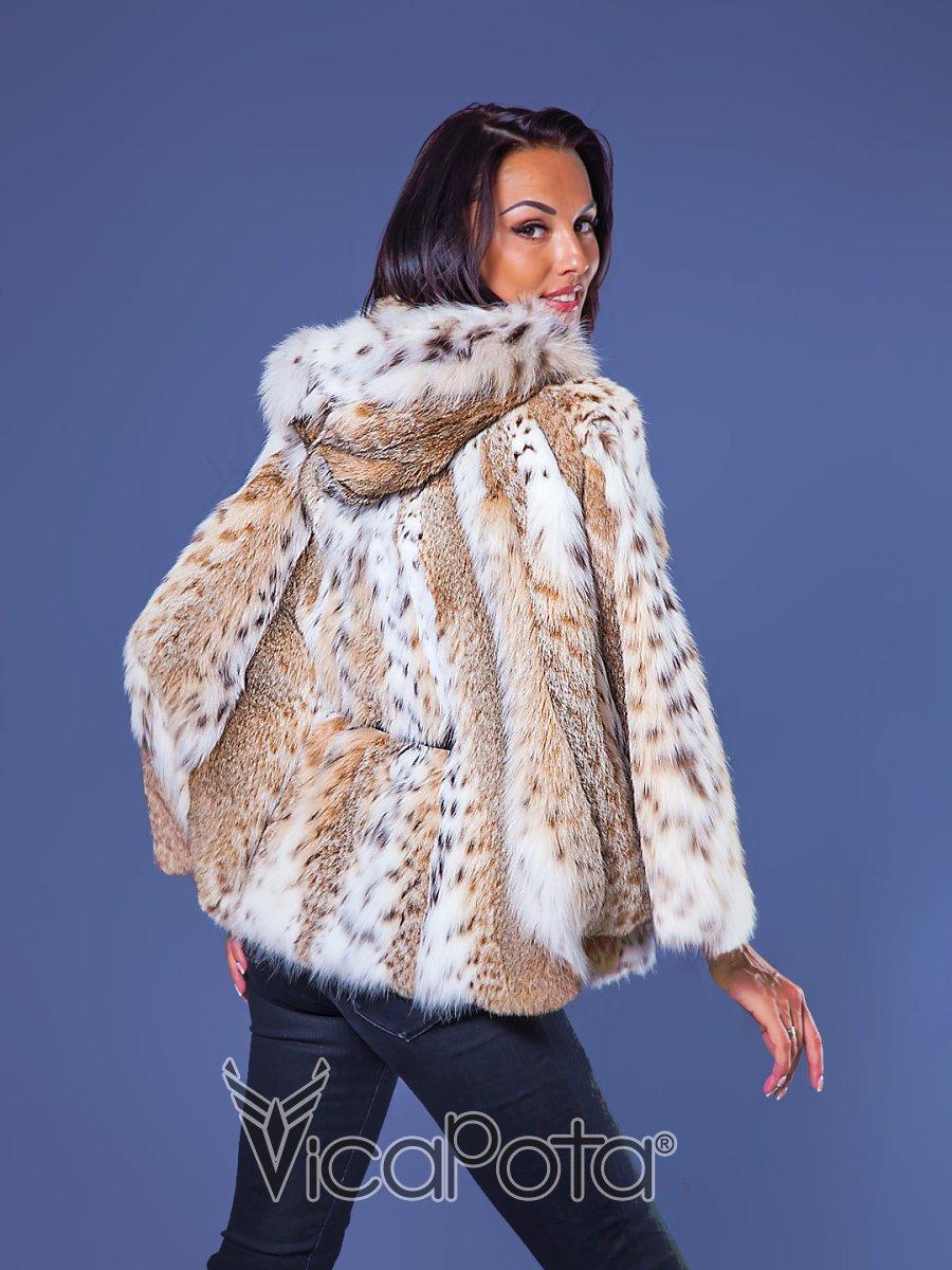 Стильная меховая куртка 2